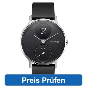 Withings Steel HR, die beste analoge Uhr im Fitness Uhr Test