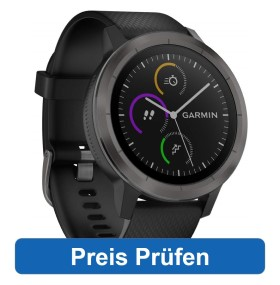 Die Garmin Vivoactive Music 3 mit Musikplayer