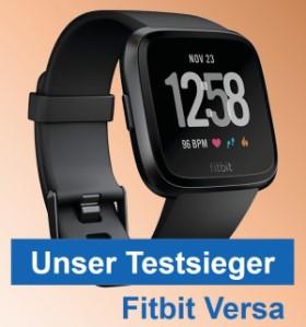 Fitbit Versa - Testsieger im Fitness Uhr Test