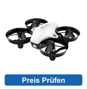 Die Potensic Mini Drohne bietet für Kinder einen sehr guten Einstieg in die Welt der Drohnen